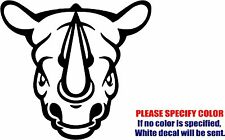 Vinyl Decal Sticker - Tribal Rhino Rhinoceros Car Truck Bumper Boat JDM Fun 6""