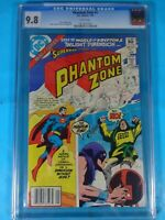 CGC Comic graded 9.8 Phantom Zone DC #1 Key issue