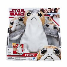 Star Wars The Last Jedi Porg Electronic Plush Doll X2 for