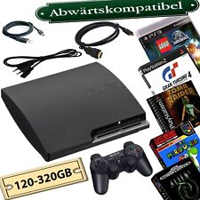 PlayStation 3 Slim 120GB-320GB Rebug CFW Abwärtskompatibel:PS3/PS2/PS1/SNES/SEGA