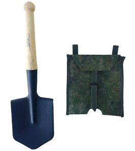 Sapper spade small infantry steel shovel russian ussr army type original + case