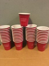 Southern Comfort Red Solo Cup Shot Glass Size Plastic Liquor Alcohol Lot Of 40