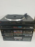Studio Standard Fisher Integrated Stereo Amplifier, Tuner, Turn Table, Tape Deck