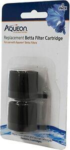 Aqueon Betta Filter Cartridge Replacement 2-Pack