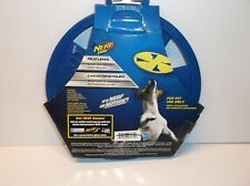 846998080729 Nerf Dog Flyer Medium Blue