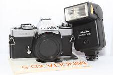 MINOLTA XD-5 Reflex Analogica XD5 Body per Obiettivo MC MD + FLASH Auto 132X