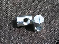 Set of 4 Barrel nuts - bed fittings bolts