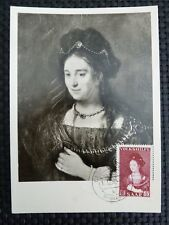 Saar Mk 1956 377 pinturas painting maximum tarjeta Carte maximum card mc cm a8909