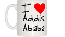 I Love Heart Addis Ababa Mug