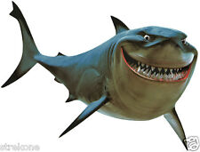 The Great White SHARK BRUCE of Disney Pixar Film FINDING NEMO Window Art StickOn