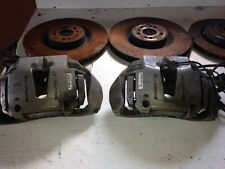 06-2011 MERCEDES OEM ML63 AMG BRAKE CALIPERS HARDWARE & ROTORS ML350 ML320 W164
