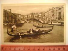 Cartolina Veneto - Venezia Ponte di Rialto - VE 3675
