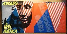 Horslips LP: the Man Who Built America (US; DJM Records – djm-20)