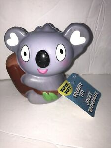 """JUMBOW Cute 4"""" """"KOALA BEAR """" Slow Rising Squishes Scented TOY Tagged"""