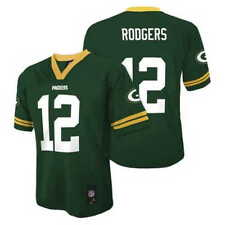 Green Bay Packers AARON RODGERS nfl Jersey YOUTH KIDS BOYS (XXL-XL-2XL-18)