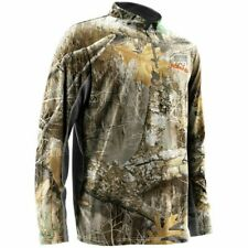 Nomad Cooling 1/4 Zip Men's Large Realtree Edge N1200005 940-L Hunting Shirt New