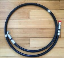 "1/2"" x 96"" Hydraulic Hose, Parker No-Skive 4250 PSI JIC ends"