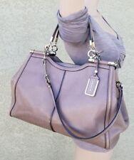 coach PINNACLE madison caroline satchel framed leather ASH shoulder purse 25245