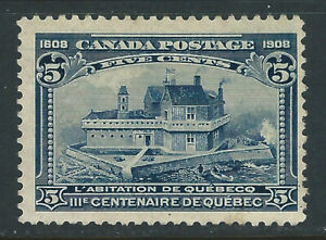 Bigjake: Canada #99, 5 cent Champlain's Home
