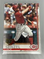 Nick Senzel 2019 Topps Update 150th Foil Stamp Rookie RC US50 Cincinnati Reds