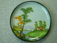 Vintage Fama Hand Painted Plate Ascoli P Italy