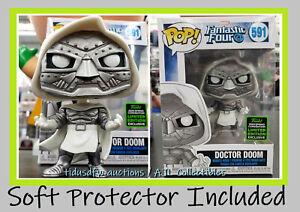 Funko Pop! Fantastic Four 4 DOCTOR DOOM ECCC Target Shared Exclusive IN-HAND