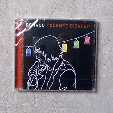 """CD AUDIO MUSIQUE / RENAUD """"TOURNÉE D'ENFER"""" 24T 2 X CD ALBUM 2003 NEUF SCELLÉ"""