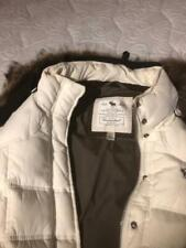 Abercrombie and Fitch Puff White Women's Jacket Size L