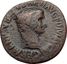 Germanicus Julius Caesar 37AD Struck under Claudius Ancient Roman Coin i60657