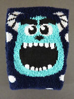 Disney Monster AG Damen Socken Sulley Fleece Kuschelsocken Strümpfe Bunt 37-42