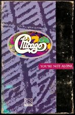 "CHICAGO  Extremely Rare Cassette Single ""You're Not Alone"" b/w ""It's Allright"""