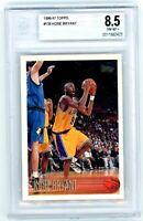 KOBE BRYANT 1996-97 Topps Rookie Card RC #138 BGS 8.5 Los Angeles LA Lakers