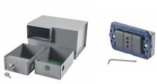CASSAFORTE A SCOMPARSA PRESA ELETTRICA LIWING MINI SECUR BOX 2 CASSETTI + VANO