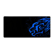 Mousepad Tappetino XXL 880x400x3mm Leone Blu Mouse Tappeto Laptop Gaming