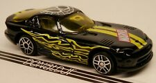 Maisto 2006 Dodge Viper GTS Coupe Black/Yellow SpiderMan MARVEL 1/64 Scale
