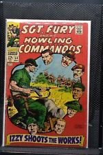 Sgt Fury and His Howling Commandos #54 Marvel Silver Age Comic 1968 Stan Lee 4.0