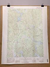 Waterboro Maine York County Map Topographical Survey East Hollis Lyman Kennebunk