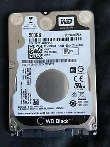 """Disque dur Western Digital Black 2.5"""" 500 Go Série ATA III"""