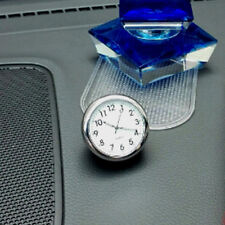 Mini Car Luminous Mechanics Clock Digital Pointer for 12V Auto Time