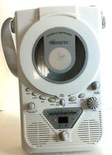 Memorex Shower Cd Player Radio Am/Fm Wall Mount Led Display w/Hanging Strap