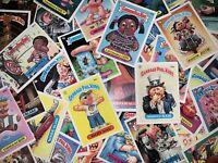 GARBAGE PAIL KIDS ORIGINAL 1980's ~ SERIES 2-13 ~ 50 CARD RANDOM LOT CARDS 1985