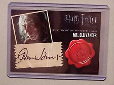 Harry Potter-DH Pt2-John Hurt-Mr Olivander-AUTHENTIC-Signature-Autograph Card