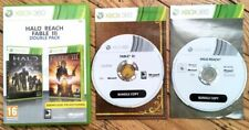DOUBLE PACK HALO REACH & FABLE 3 EXEMPLAIRE PROMOTIONNEL XBOX 360 PAL FR CIB OVP