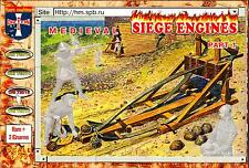 Orion Models 1/72 MEDIEVAL SIEGE ENGINES SET 1 Figure Set