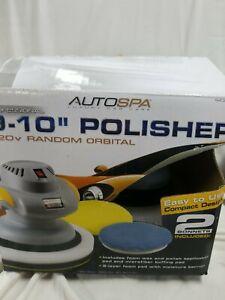 """AutoSpa Professional 9-10"""" 120v Random Orbital Polisher 120V new open box"""