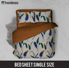 Hodeso Bedsheet Feathers Single Size With FREE Pillow Case
