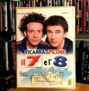 Il 7 e l'8 (2007) Sette e Otto FICARRA & PICONE DVD COME NUOVO
