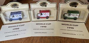 Lledo World Cup 1990 Models