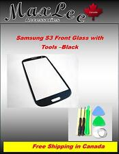 For Samsung S3 Front Glass with tools -Black i535 i747 i9300 L710 R580 T999