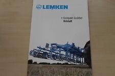 158059) Lemken Grubber Kristall Prospekt 02/2012